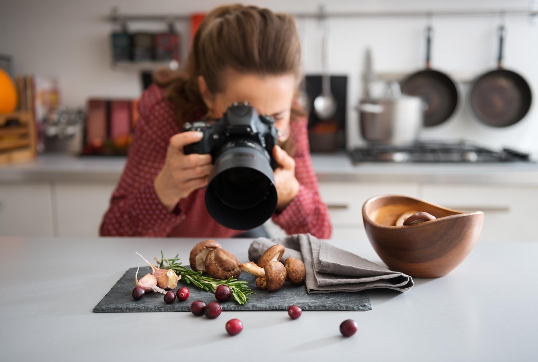 Populärt att blogga om mat