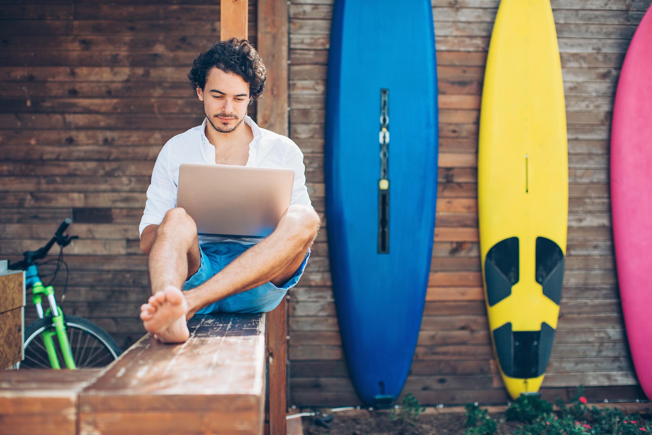 Var kan du blogga?